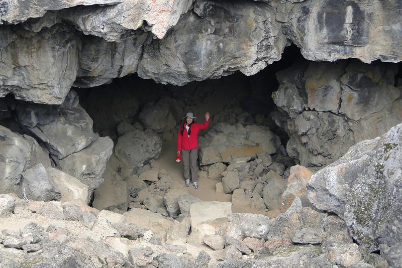Entering Sentinel Cave