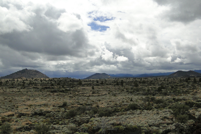 View from Black Crater.