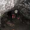 Sunshine Lava Tube Ceiling getting a bit low! <FONT SIZE=1>© Chiyoko Meacham</FONT>