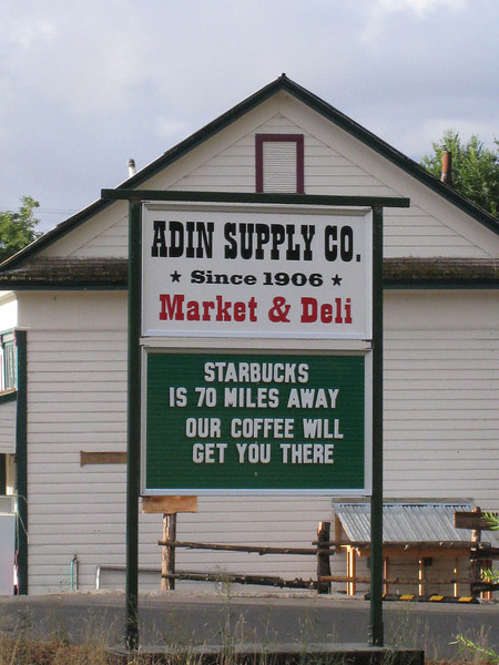 "The <A HREF=""http://www.adinsupply.com/grocery.html"" TARGET=""_blank"">Adin Supply Co.</A> <FONT SIZE=1>© Chiyoko Meacham</FONT>"