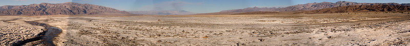 A panorama taken north of Furnace Creek
