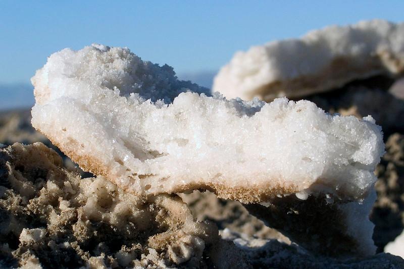 Salt Crystals at the Devil's Golf Course