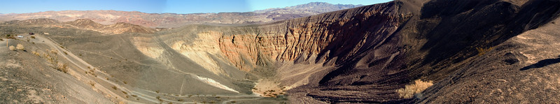 Panorama of Ubehebe crater