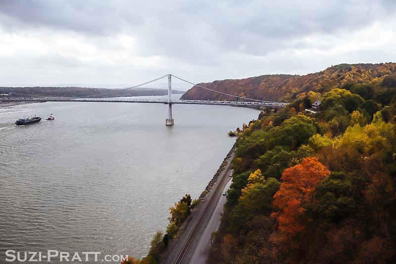 Poughkeepsie Railroad Bridge in Upstate New York