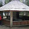 The Anthony lake Pavilion built by the Civilian Conservation Corps in the 1930's