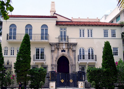 The Versace Mansion, South Beach, Miami