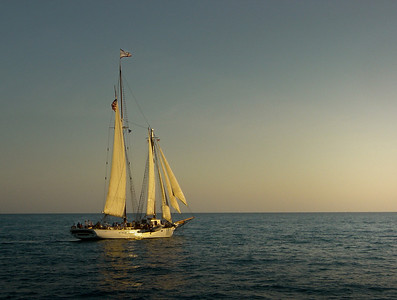 Sunset schooner - Florida Keys