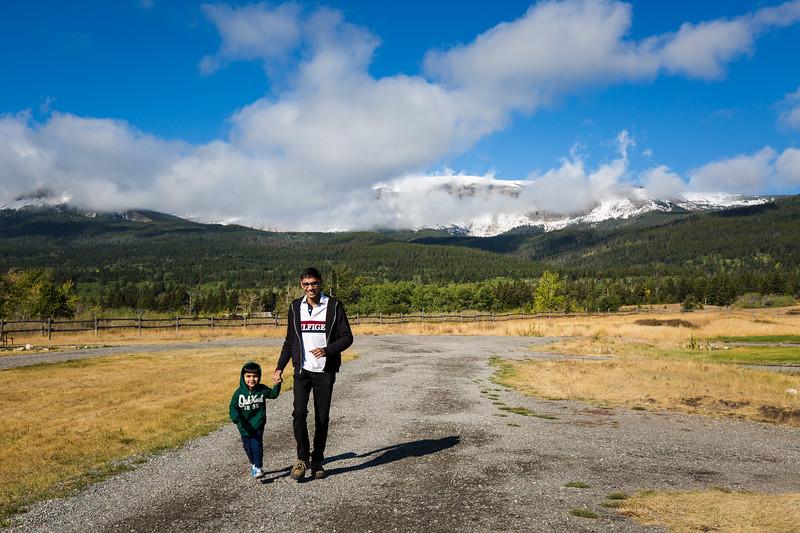 Some photos at KOA Campground, St. Mary