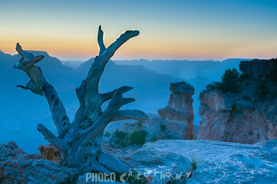 Sunrise at Yaki Poiny, Grand Canyon