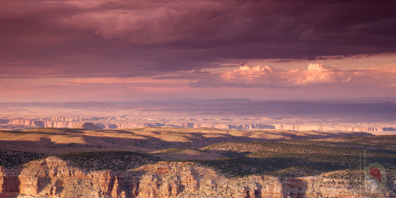Sun set from Desert View - Grand Canyon National Park :USA
