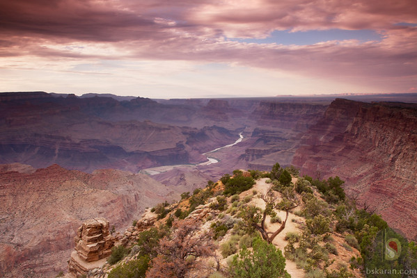 Sun set from Desert View - Grand Canyon National Park :USA
