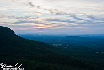 Sunset From Hanging Rock