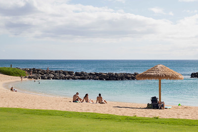Ko Olina Beach Resort on Oahu, Hawaii