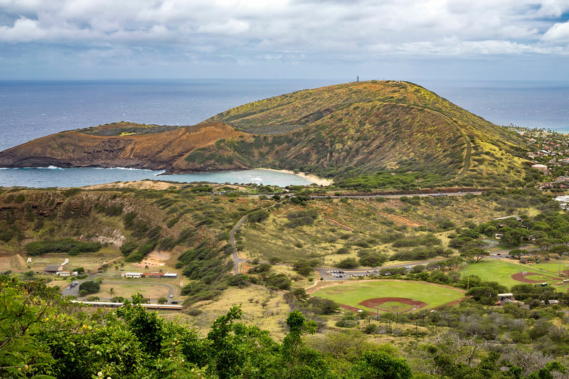 Koko Head Crater Hike on Oahu, Hawaii