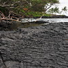 © Joseph Dougherty. All rights reserved.  Lava rock at the shoreline.