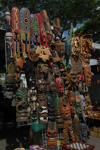 © Joseph Dougherty. All rights reserved.  Pearl City swapmeet, Oahu, Hawaii.