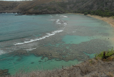 © Joseph Dougherty. All rights reserved.  Hanauma Bay, Oahu, Hawaii.