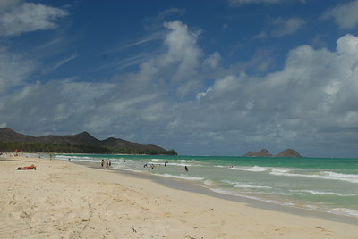 © Joseph Dougherty. All rights reserved.  The beach at Bellows Air Station.  Oahu, Hawaii.