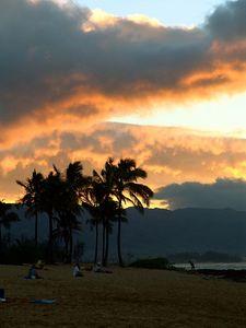 Sunset, North Shore, Oahu