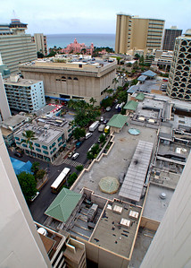 View of Waikiki from 10th story