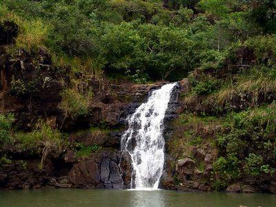 Waimea Falls, Haleiwa, Hawaii