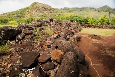 Heiau of Poliahu - Temple Dedicated to Ku