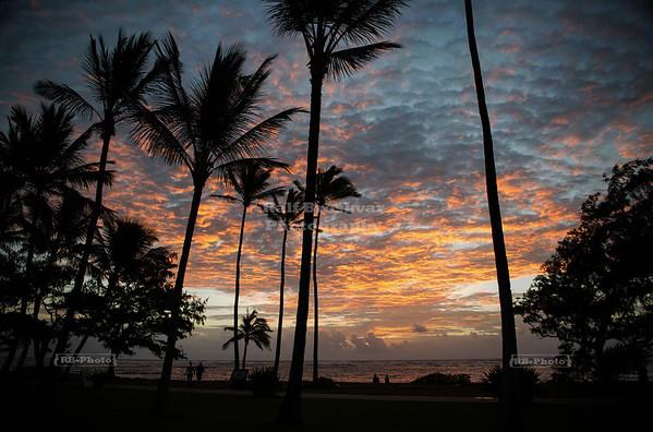 Sunrise on Kaua'i