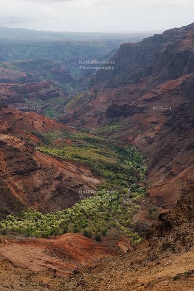 Waimea Canyon on Kauai, Hawaii