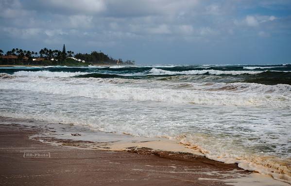 Wailua Beach Park on Kauai