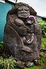 Hawaiian mother with child