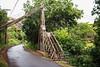 Swing bridge at the Menehune Ditch