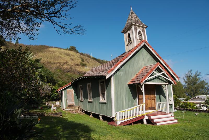 Historic Church in Kahakuloa Village