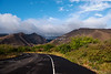 Rural road on Maui Island