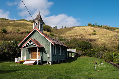 Historic Church in Kahakuloa Village