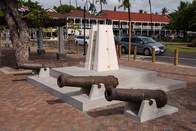 Russian cannons in Lahaina Harbor