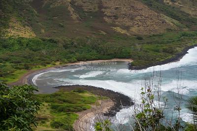 Halawa Beach on Molokai Island
