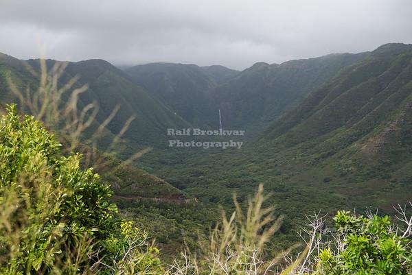 Halawa Valley on Moloka'i