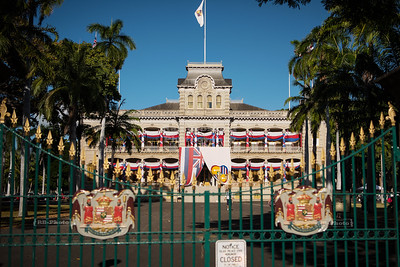 Iolani Palace in Honolulu