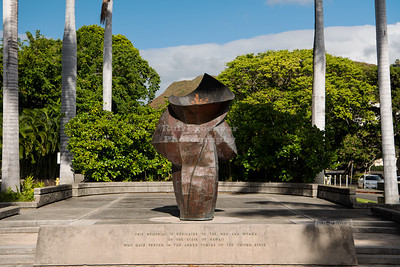 Eternal Flame War Memorial in Honolulu