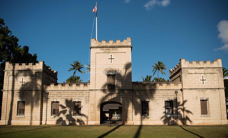 ʻIolani Barracks in Honolulu