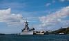 Battleship Missouri in Pearl Harbor