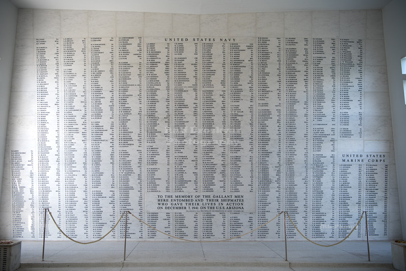 USS Arizona Memorial in Pearl Harbor
