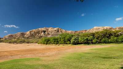 Inside the Diamond Head Crater