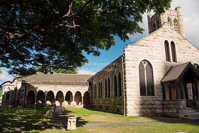 St. Andrew's Cathedral in Honolulu, Hawaii