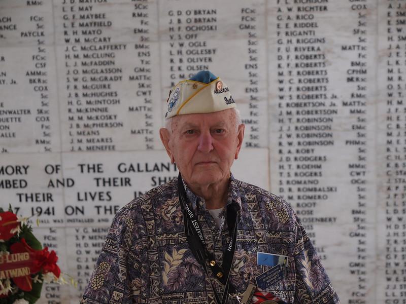 Pearl Harbor Vet on 50th Anniversay (Dec 7, 2011)
