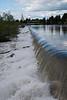 Snake river in Idaho Falls, Idaho