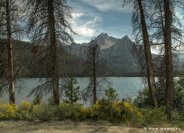 Stanley Lake in the Sawtooth National Recreation Area, Idaho. HDR