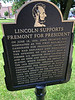 Lincoln Supports Fremont for President