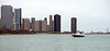Water taxi in Chicago