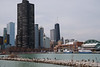 Lake Point Tower and Navy Pier